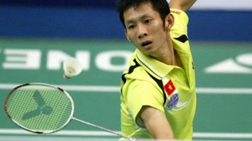 Tiến Minh ngược dòng vượt qua vòng 1 giải Nhật Bản - 1