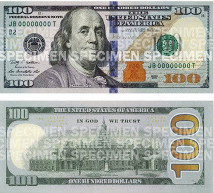 Tờ 100 đô-la mới có gì lạ? - 2