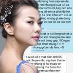 Thời trang - Lộ tin nhắn Thanh Hằng và vợ đại gia T.