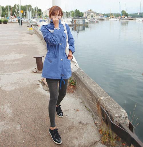 Áo khoác kaki đơn giản mà đẹp! - 3