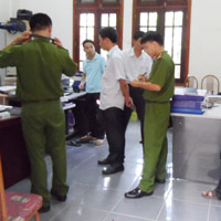 Tiếp tục điều tra vụ nã đạn ở UBND TP Thái Bình