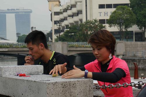 Sao Việt chinh phục thử thách tại Singapore - 5