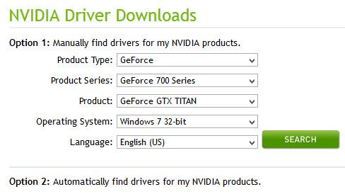 Cách tìm driver cho card màn hình rời NVIDIA - 1