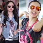 Thời trang - 1001 thời trang sân bay của sao Việt