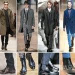 Thời trang - Cùng chàng phối hợp bốt và trang phục