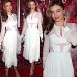Thời trang - Hãy yêu chiếc váy cocktail màu trắng!