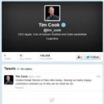 Công nghệ thông tin - Tim Cook tham gia Twitter và có dòng tweet đầu tiên