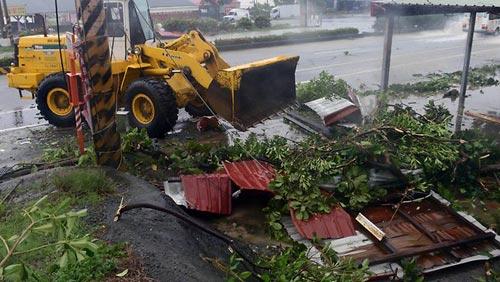 Siêu bão Usagi tàn phá Philippines, Đài Loan - 2