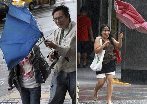 Siêu bão Usagi tàn phá Philippines, Đài Loan - 6