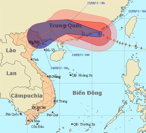 Usagi - cơn bão mạnh nhất năm tiến gần tới VN - 1