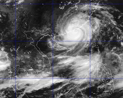 Usagi - cơn bão mạnh nhất năm tiến gần tới VN - 2