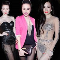 """Mốt """"quần 5 cm"""" của Angela Phương Trinh"""