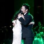 Ngôi sao điện ảnh - Bằng Kiều ôm chặt Phương Linh