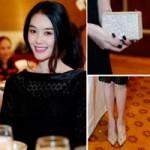 Thời trang - Linh Chi nổi bật với giày trăm triệu