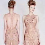 Thời trang - Vẻ đẹp thần tiên của váy cưới màu
