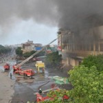Vụ cháy TTTM: Nói xe không có nước là sai