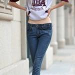Thời trang - Ngắm dáng chọn quần jeans thật chuẩn