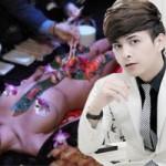 Ca nhạc - MTV - Hồ Quang Hiếu dự tiệc sushi trên mẫu nude