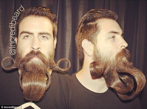 Người đàn ông có kiểu râu kỳ lạ - 7