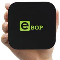 Thiết bị eBop biến tivi thường thành tivi siêu giải trí