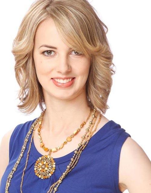 Kiểu tóc khắc phục nhược điểm mặt dài - 1