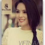 Thời trang - Hương Thảo bất ngờ lọt top Miss World