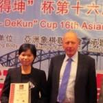 Thể thao - Ngô Lan Hương lần thứ hai vô địch cờ tướng châu Á
