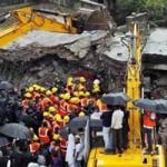 Tin tức trong ngày - Ấn Độ: Sập chung cư 5 tầng, 70 người mắc kẹt