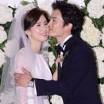 """Đám cưới ngọt ngào của """"ông chủ"""" Ji Sung"""
