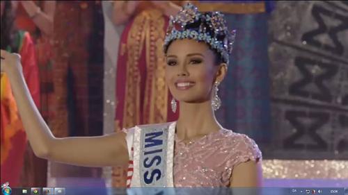 Nhan sắc của tân Hoa hậu thế giới 2013 - 2