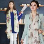 Thời trang - 3 cách quàng khăn xinh của nàng công sở