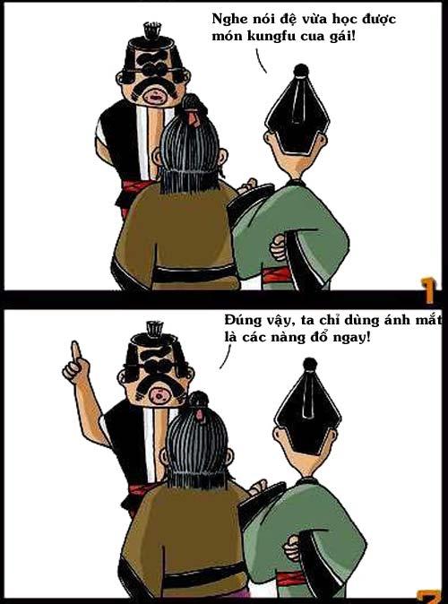 Truyện chưởng hài: Kung fu cua gái - 3