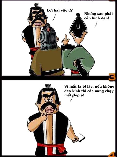 Truyện chưởng hài: Kung fu cua gái - 4