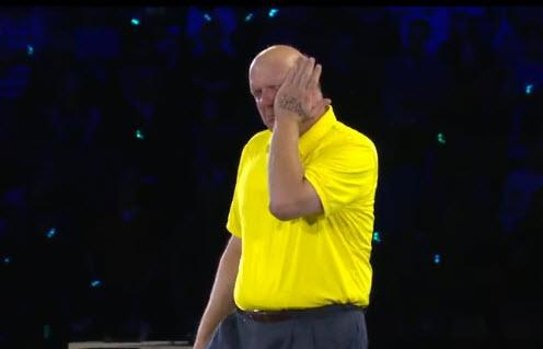Steve Ballmer chia tay Microsoft: Nước mắt đã rơi - 1