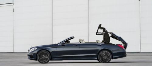 Mercedes-Benz S-Class mui trần sắp ra mắt - 1