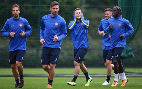 Arsenal-Napoli: Chờ những người Madrid cũ - 1