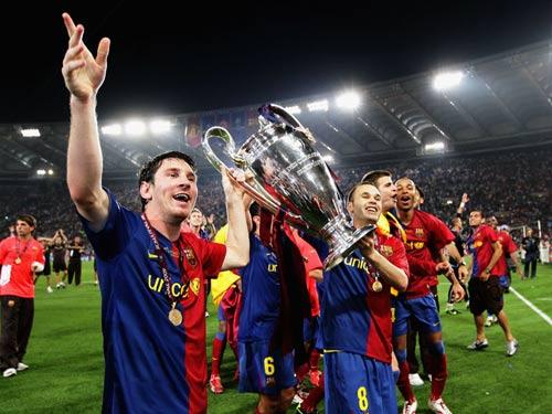 Barca: Đội bóng số 1 Champions League - 1