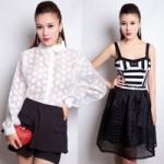 Thời trang - Mặc đẹp cùng tông màu trắng đen