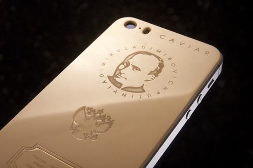 iPhone 5S in hình Tổng thống Putin giá 93 triệu đồng - 1
