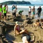 Du lịch - Tới New Zealand tắm cát