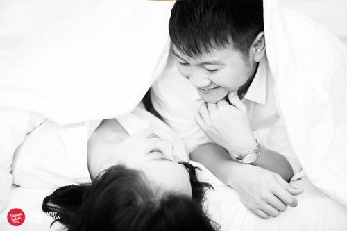Ngắm Văn Quyến chụp ảnh cưới cùng vợ xinh - 3