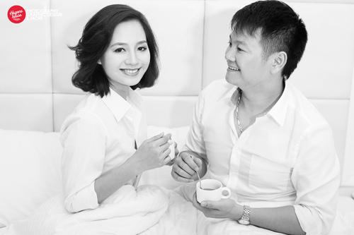 Ngắm Văn Quyến chụp ảnh cưới cùng vợ xinh - 4