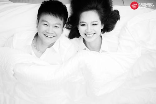 Ngắm Văn Quyến chụp ảnh cưới cùng vợ xinh - 1