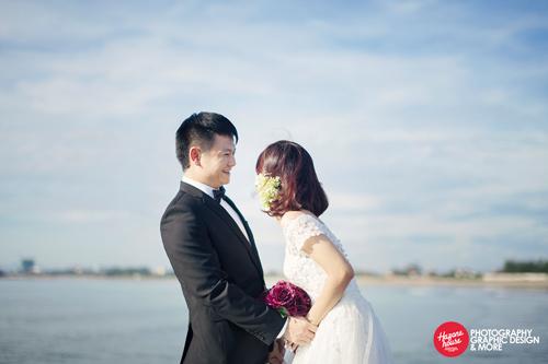 Ngắm Văn Quyến chụp ảnh cưới cùng vợ xinh - 5