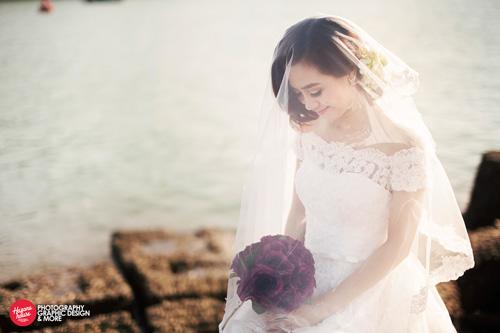 Ngắm Văn Quyến chụp ảnh cưới cùng vợ xinh - 6