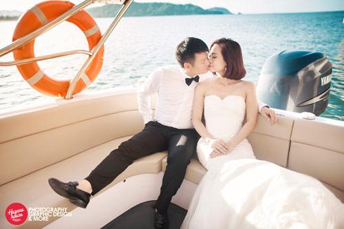 Ngắm Văn Quyến chụp ảnh cưới cùng vợ xinh - 9