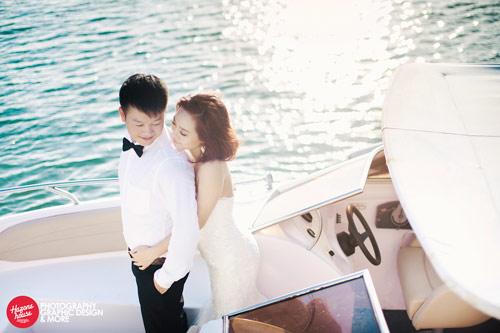 Ngắm Văn Quyến chụp ảnh cưới cùng vợ xinh - 10