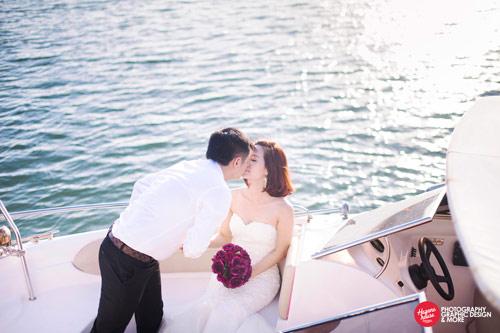 Ngắm Văn Quyến chụp ảnh cưới cùng vợ xinh - 12
