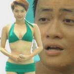 Minh Hằng mượn bikini nói thật giới tính