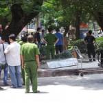 Tin tức trong ngày - Người đàn ông tự thiêu trong công viên